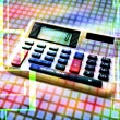 Stock Photo: Electronic calculator