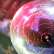 Discoball lights — Stock Photo