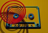 Retro cassette — Stock Photo