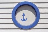 Anchor sign — Stock Photo