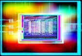 Shopping barcode — Stock Photo