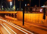 Bcn traffic — Stock Photo