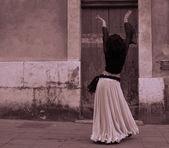 Bailarín del norte de áfrica — Foto de Stock
