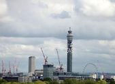 Telecom tower — Stock Photo