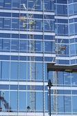 Window crane — Stock Photo