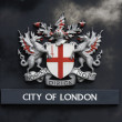 London coat of arms - Stock Photo