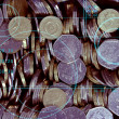 Coins background - Stock Photo