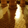 Reflected columns — Stock Photo