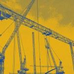 Cranes — Stock Photo #12790660