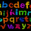 Colorful alphabet — Foto Stock