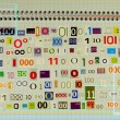 Binary code — Foto Stock