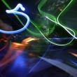 Dj and lights abstract — Stockfoto
