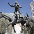 Don quixote statue — Stock Photo #12791776