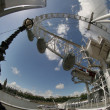 Stock Photo: Fisheye london eye