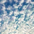 Stock Photo: Fluffy clouds