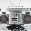 Retro ghettoblaster — Stock Photo #12795480