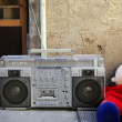 Foto Stock: Retro ghettoblaster