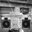 Retro ghettoblaster — Stock Photo #12795542