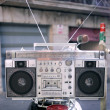 Retro ghettoblaster — Foto Stock #12795559