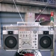 Retro ghettoblaster — Stockfoto #12795559