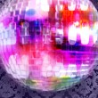 Discoball and wallpaper - Stock Photo