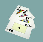 Playing cards — Stock Photo