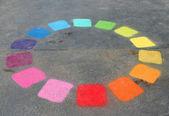 Färg cirkel — Stockfoto