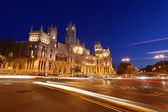 Plaza de cibeles — Stock Photo