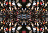 Crowd of — Stock Photo