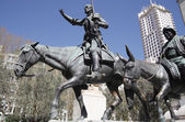 Don quixote statue — Stock Photo