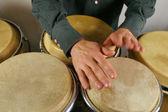 Drummer's hands — Foto de Stock