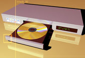 Dvd 播放机 — 图库照片