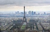 Horizonte de paris — Foto Stock