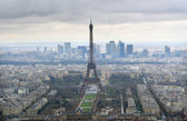 Skyline paris — Foto Stock