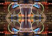 London eye ferris wheel — Stock Photo