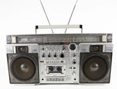 Retro ghettoblaster — Stock Photo
