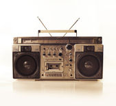 Retro ghettoblaster — Foto Stock
