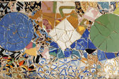 Guell tiles — Stock Photo