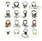 Retro headphones — Stock Photo