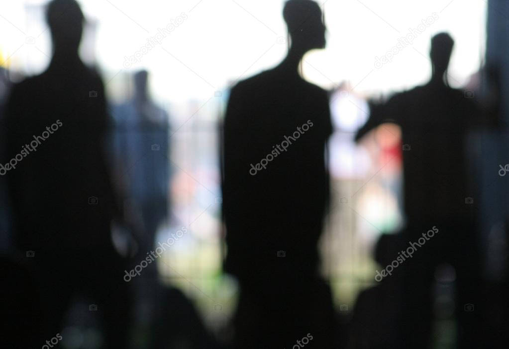 Silhouette of — Foto de Stock   #12796376