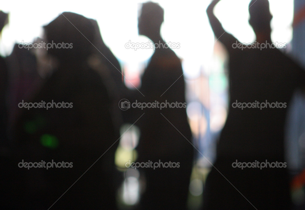 Silhouette of — Stock Photo #12796393