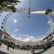 Fisheye london eye — Stock Photo #12800272