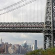 Manhatten bridge — Stock Photo