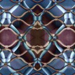 Marseille gated pattern - Stock Photo