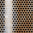 Metal holes — Foto Stock