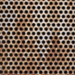 Metal holes — Stock Photo