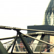 Millenium bridge — Foto de Stock