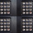 Foto Stock: Buzzer pattern