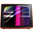Orange tv — Stock Photo #12803455