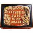 Orange tv - Stock Photo